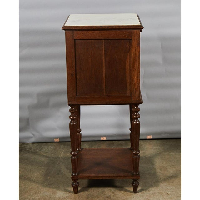 Henry II Style Night Stand For Sale In Los Angeles - Image 6 of 8