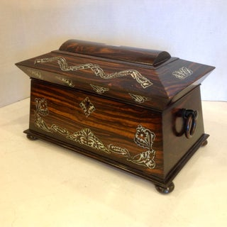 Superior Anglo Indian Tea Caddy Preview