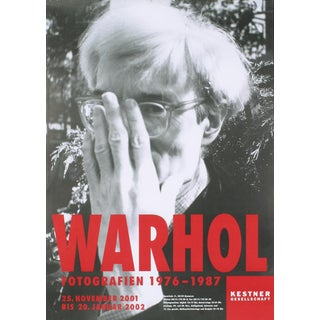 Andy Warhol_Self-Portrait_2001_Offset Lithograph For Sale
