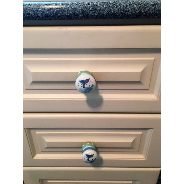 Whale Tail Cabinet Knobs - A Pair - Image 4 of 4