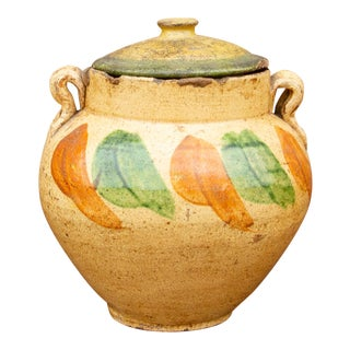 19th Century Spanish Colonial Vase For Sale