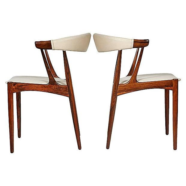 Danish Rosewood & Leather Dining Chairs - Image 4 of 12