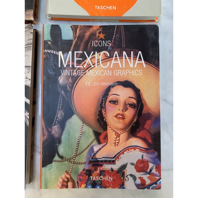 Taschen Icon Books - a Set of Eight For Sale In Santa Fe - Image 6 of 11