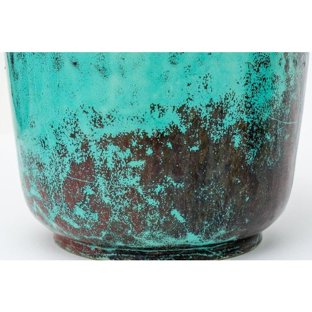 Glazed Pottery Vases by Richard Uhlemeyer, 1940s - Set of 2 For Sale In West Palm - Image 6 of 13