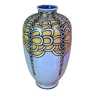 1920s Art Deco Harry Simeon Sessionist Vase for Royal Doulton For Sale