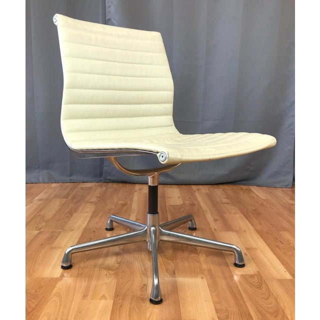 2000 - 2009 Eames Aluminum Group Side Chair for Herman Miller For Sale - Image 5 of 13