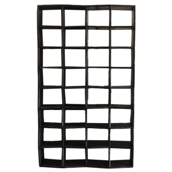 Noir Zig Zag Bookcase - Image 1 of 4