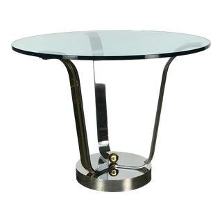 "Elegant ""Tulip"" Center Table by Karl Springer For Sale"