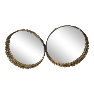 Hollywood Regency Modern Arteriors Mirrors - a Pair For Sale