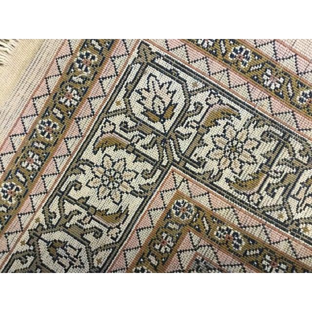Early 20th Century Handmade Persian Rug - 4′ × 6′2″ - Image 4 of 5