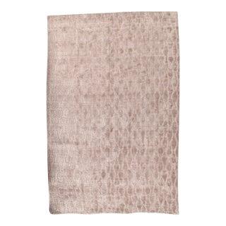Pasargad N Y Modern Bambo Silk Hand-Loom Rug - 6′1″ × 9′4″ For Sale