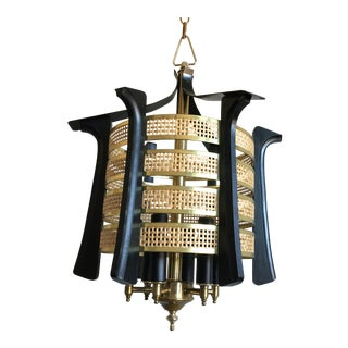 Chinoiserie Pagoda Lantern Chandelier For Sale