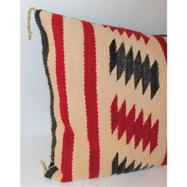 Navajo Saddle Blanket Bolster Pillows - Collection of 3 For Sale - Image 9 of 13