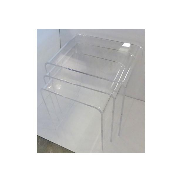 Lucite nesting tables set of 3 chairish lucite nesting tables set of 3 image 4 of 5 watchthetrailerfo