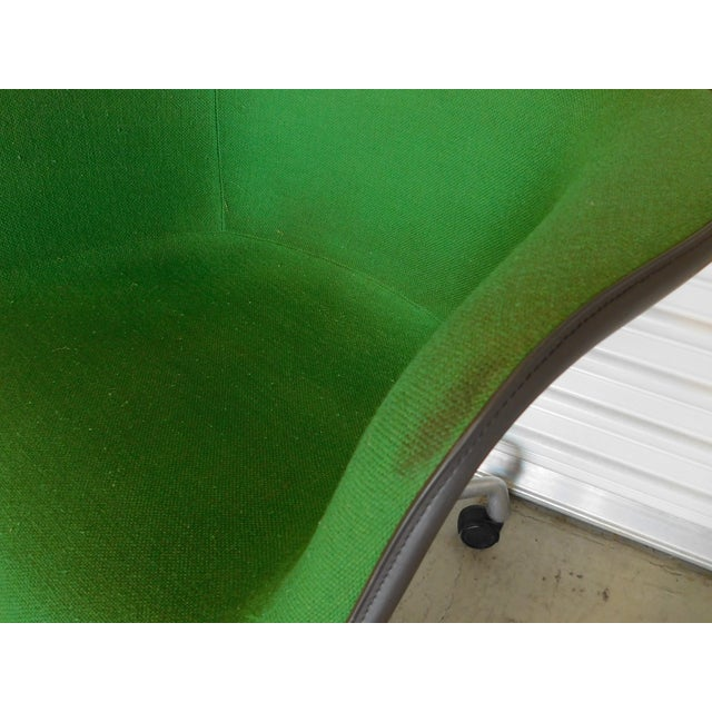 1979 Herman Miller Green Office Chairs - Pair - Image 10 of 11