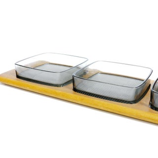 Digsmed Denmark Mid Century Modern 3-Part Snack Tray Preview