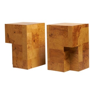 Paul Evans Cityscape End Tables