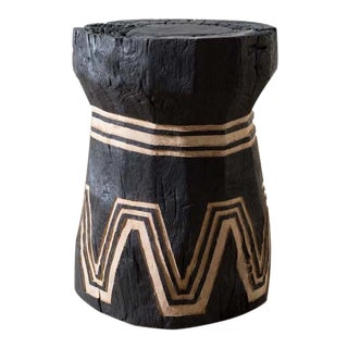 Modern Teak Lesung Stool I For Sale