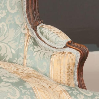 Louis XV Style 3 Piece Oak Chaise Lounge Preview