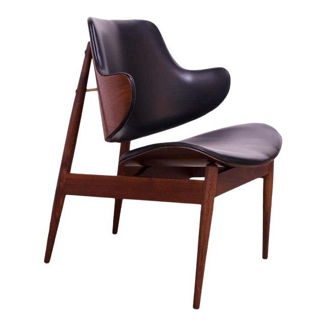 Seymour J. Wiener Walnut Lounge Chair for Kodawood For Sale