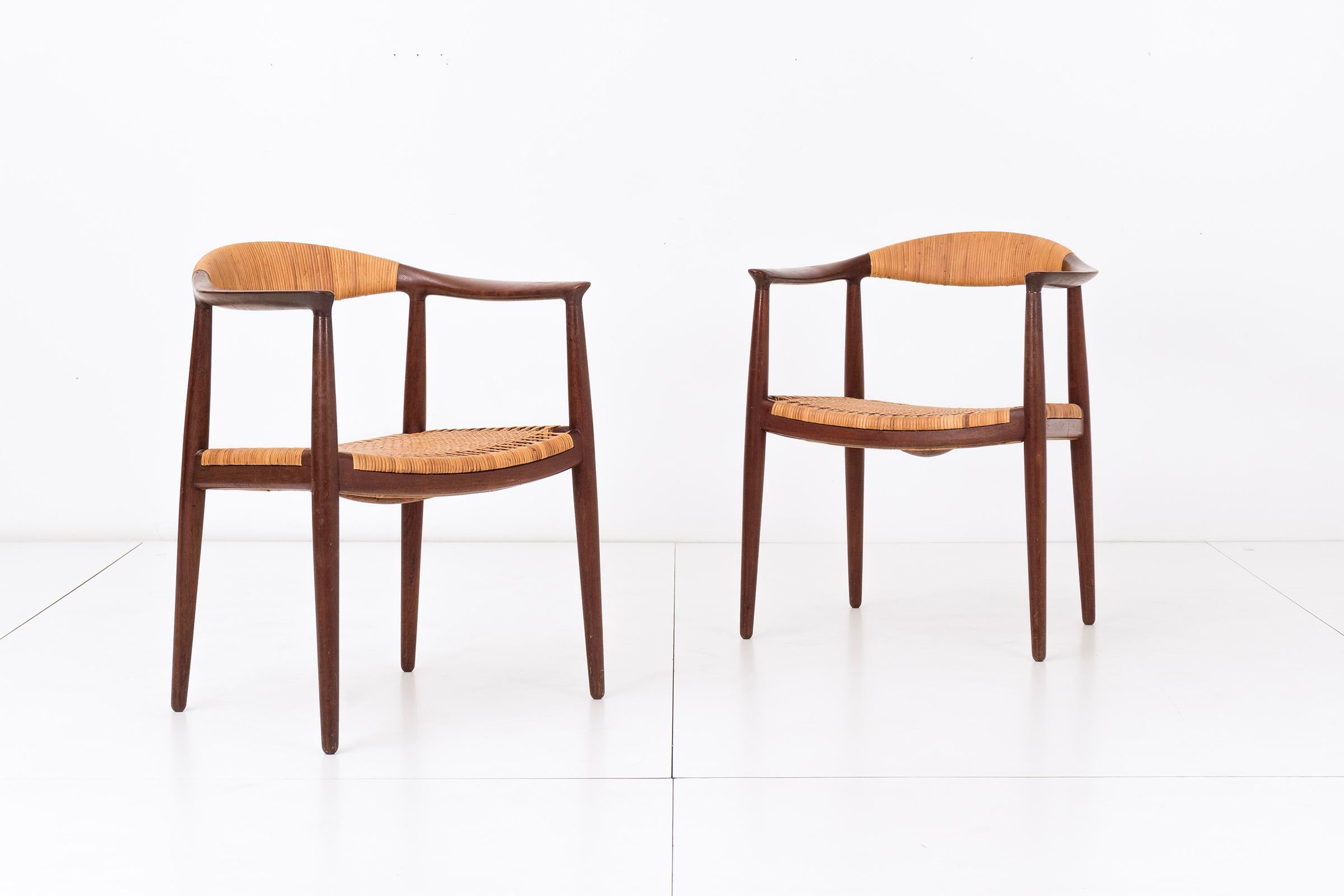 Set Of Eight Hans Wegner Armchairs   Image 2 Of 11