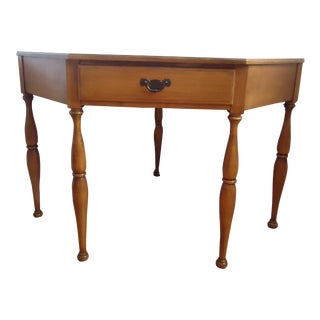 20th Century Traditional Crawford Maple Wood Corner Desk For Sale