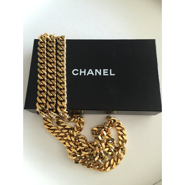 Chanel Classic Double Strand Chain Link Belt For Sale In Philadelphia - Image 6 of 6