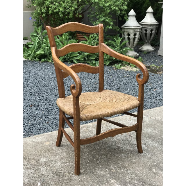 Hickory Chair Furniture Company 1980s Charles X Style Armchairs - Set of 6 For Sale - Image 4 of 9