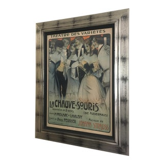 "Vintage 1904 French ""La Chauve-Souris"" Opera Poster by Georges Dola For Sale"