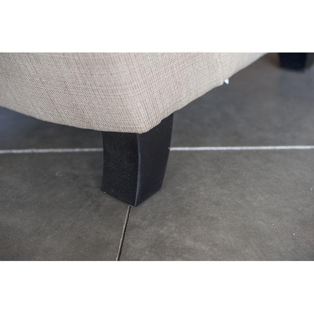 Hiatt Armless Cream Chair - Image 4 of 4