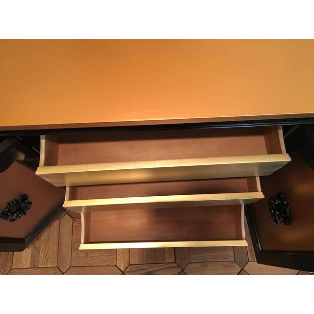 Rose Gold & Black Regency Sideboard - Image 6 of 6