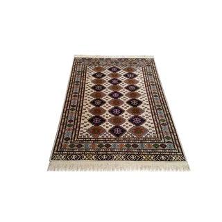 Persian Torkaman Handmade Rug - 4x6