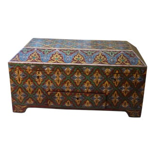 19th Century Scandinavian Small Trunk