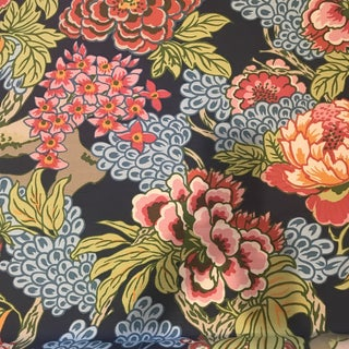 "Thibaut ""Honshu"" Fabric - 6 Yards Floral For Sale"