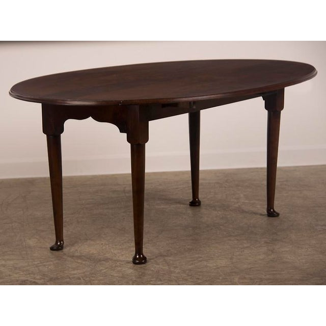 WorldClass Customizable English Bespoke Made Oval Cherrywood Drop - Oval cherry wood dining table