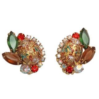 Julianna Easter Egg Earrings, Oval For Sale