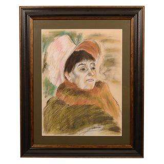 Portrait of a Lady With Bonnet Painting For Sale