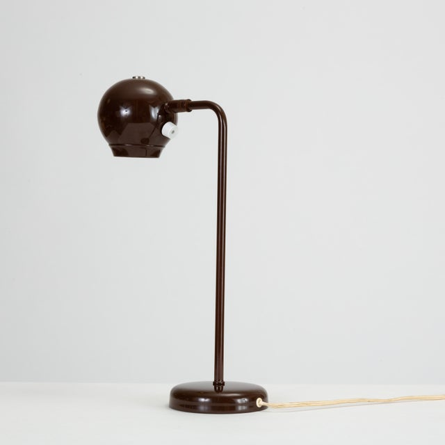 1970s Eyeball Table Lamp by Robert Sonneman for George Kovacs For Sale - Image 5 of 9