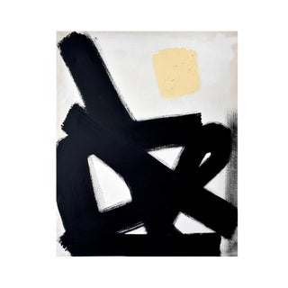 Abstract Black Path No. 1 - 36x48 For Sale