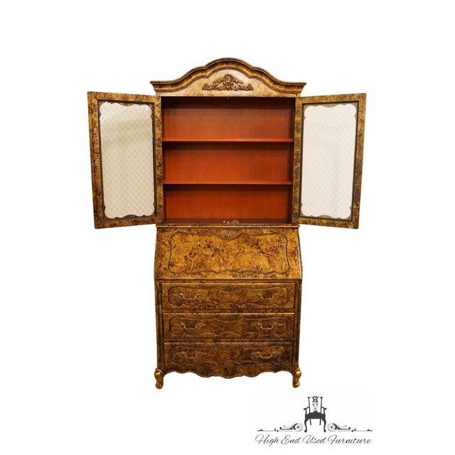 Late 20th Century Vintage Jasper Cabinet Secretary Desk For Sale - Image 4 of 13