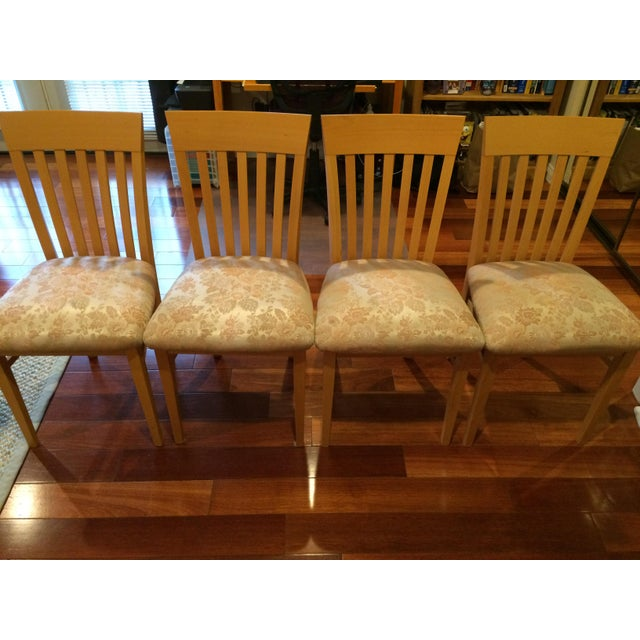A. Sibau Italian Vintage Dining Room Chairs - Set of 4 - Image 7 of 7