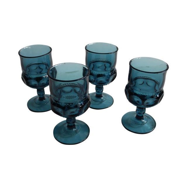 Kings Crown Water Goblets - Set of 4 - Image 1 of 5