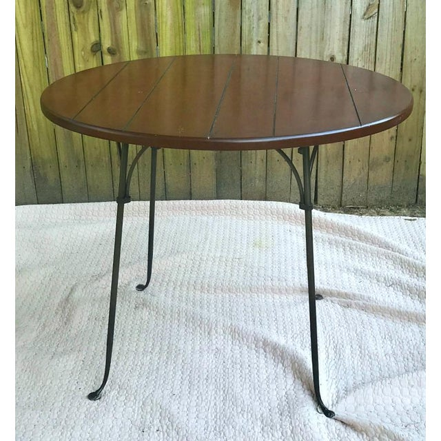 Charleston Forge has a long history of hand-building beautiful, high quality, steel, and wood furniture. This set is...