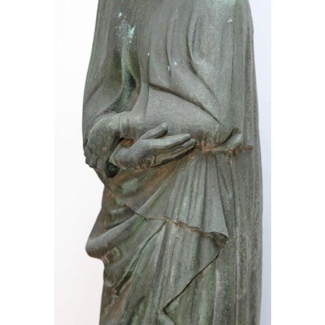 Bronze Female Statue For Sale In Dallas - Image 6 of 13