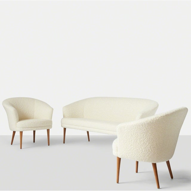 Pair of Chairs by Kerstin Horlin Holmquist for Nordiska Kompaniet, Ca. 1965 For Sale - Image 9 of 10