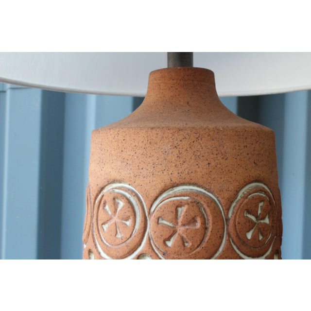 Vintage Ceramic Lamp, 1960s For Sale - Image 4 of 7