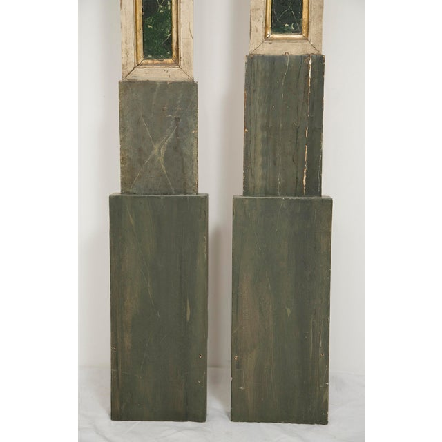 19th Century Italian Pilasters or Columns - a Pair For Sale - Image 4 of 4
