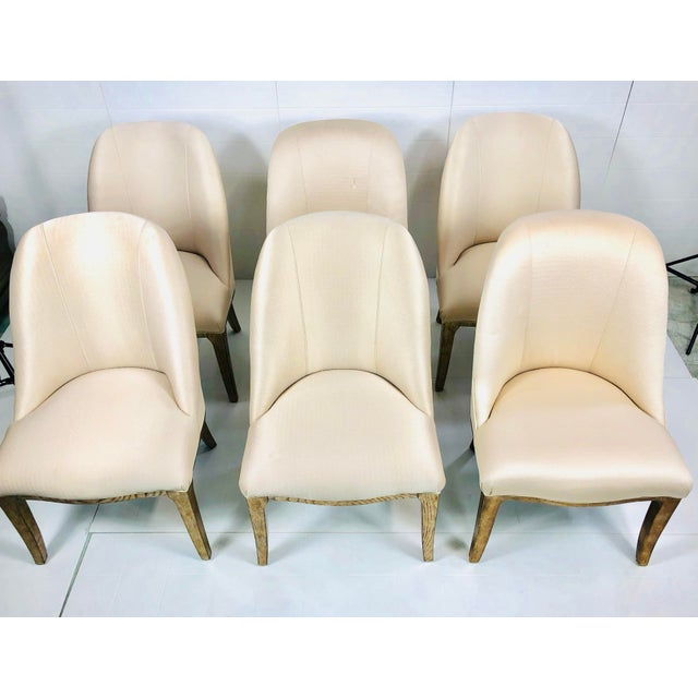Have a seat! Luxury and comfort. Lovely legs, faux finished in a Silver And Gold and the back is accented with a stylish...