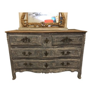 French Painted Chest