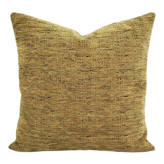 """Pindler Omega in Sage Pillow Cover - 20"""" X 20"""" Solid Textured Chenille Cushion Cover For Sale"""